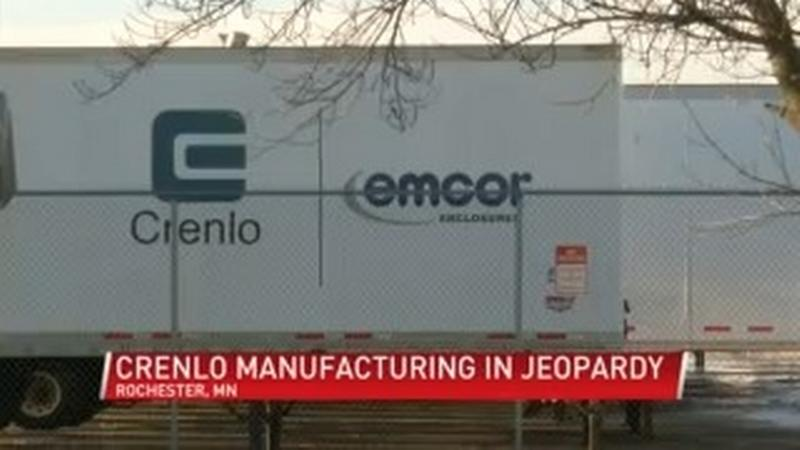 Fate of Crenlo manufacturing in gridlock
