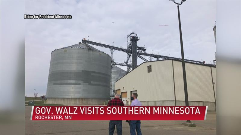Gov. Walz on COVID-19, veterans, ethanol fuel, healthcare, and elections