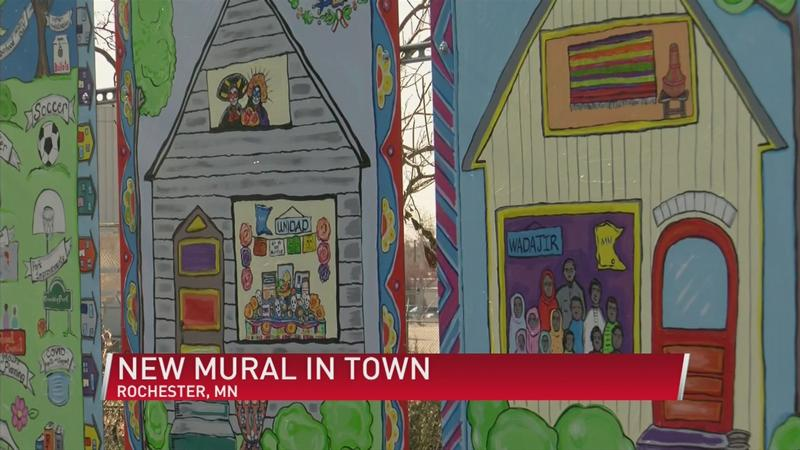 New Mural in Rochester showcases unity