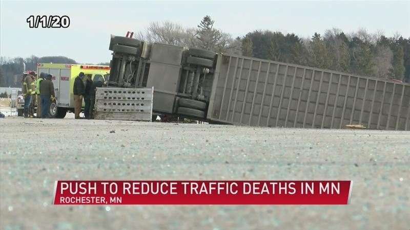 Push to reduce traffic deaths in Minnesota