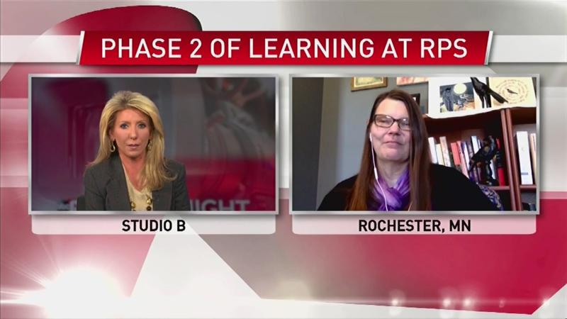 VIDEO: Rochester School Board Chair on phase II of the learning plan