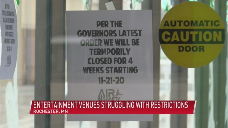 Local businesses struggling with partial shutdown urge city for help