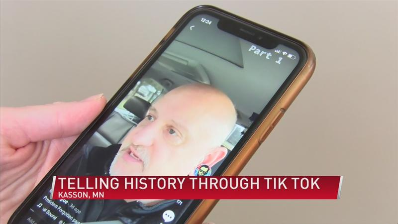 Local teacher using TikTok to teach
