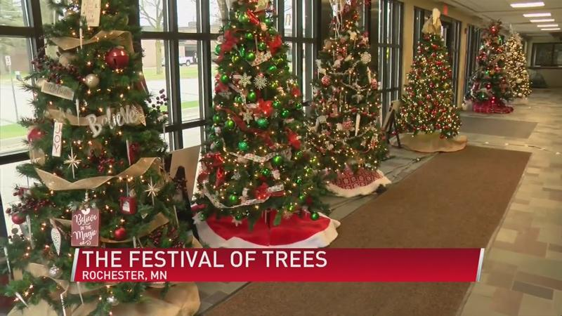 Rochester prepares for annual Festival of Trees