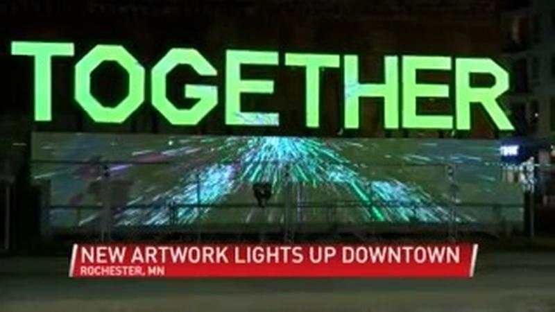 Interactive media display created to bring Rochester 'Together'