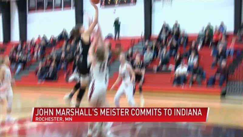 John Marshall's Lilly Meister commits to Indiana University