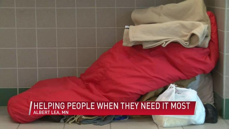 Local agency helping the homeless when they need it most
