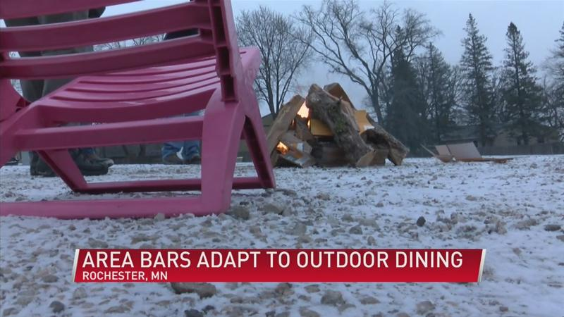 Local bars get creative with outdoor patio spaces in cold weather