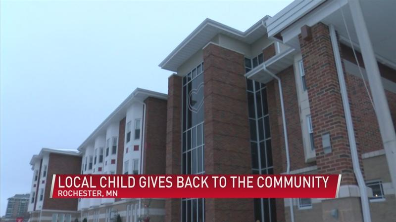 11-year-old Rochester girl raises money for the Ronald McDonald House