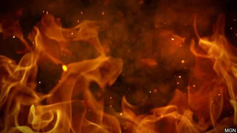 Human remains found in vehicle after fire near Kenyon