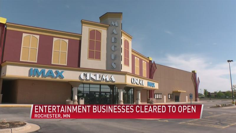 Minnesota theaters, bowling alleys and other entertainment businesses cleared to open