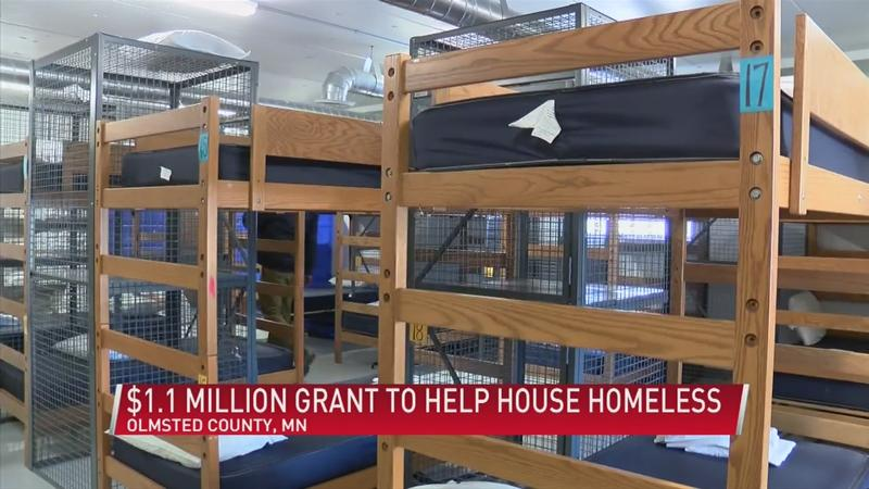 Olmsted county receives $1.1 million grant to help house the homeless