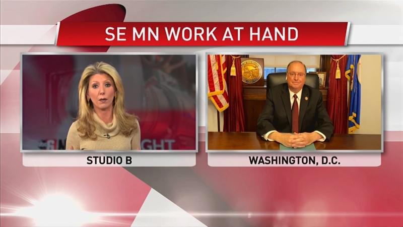 Rep. Hagedorn on work moving forward & projects in SE MN