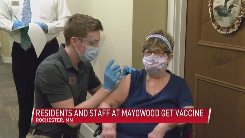 Residents and staff at Mayowood get vaccinated