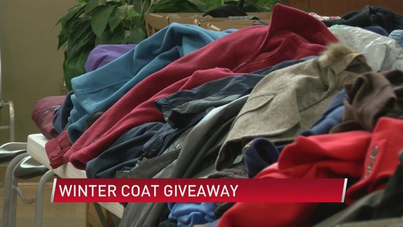 Salvation Army hosts second coat distribution