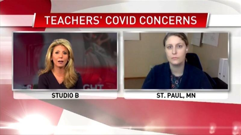 Teacher speaks out on feeling 'forced' to go back to the classroom
