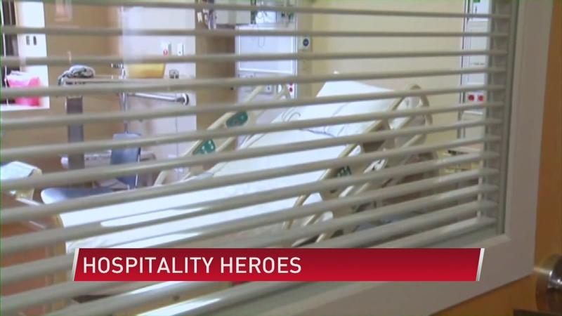 The heroes of the hospital who work in hospitality