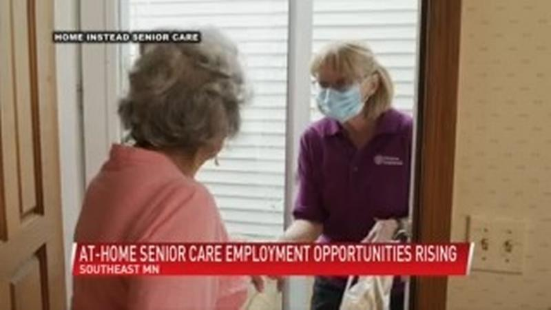 At-home senior care employment opportunities on the rise