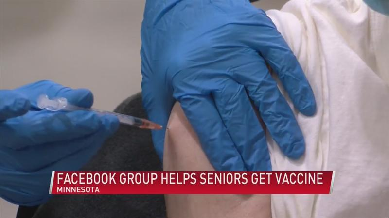 Facebook group helping seniors, at-risk get COVID-19 vaccine