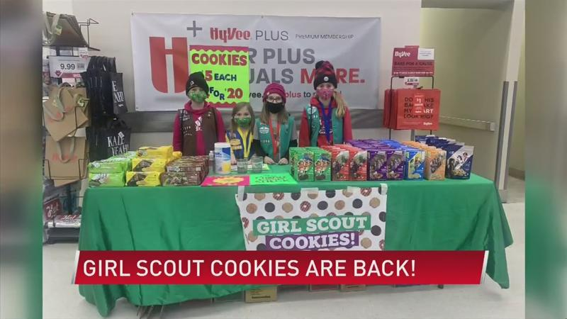 Girl Scout cookies are back!