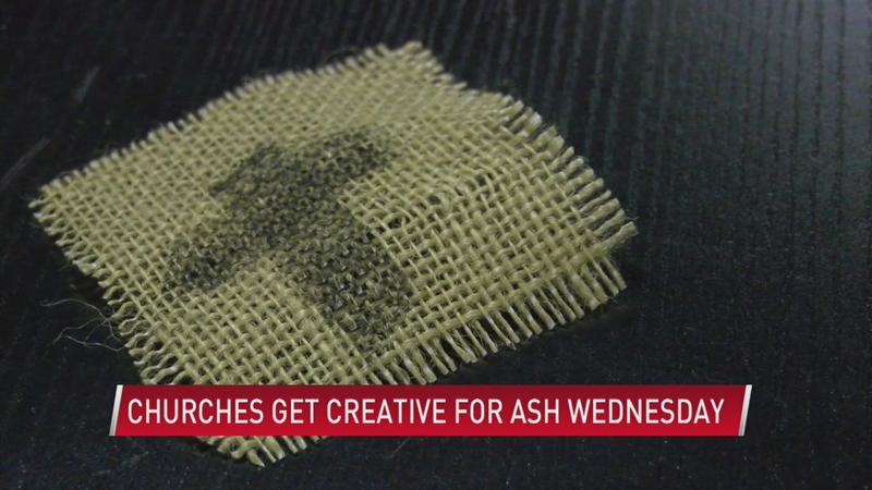 Local churches get creative for Ash Wednesday