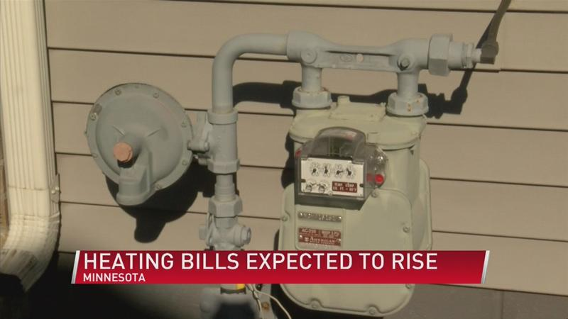 When can Minnesotans expect rise in heating bill and why?