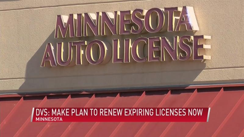 MN DVS: Make a plan to renew expiring lD's and licenses, now