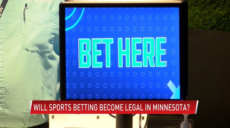 MN lawmaker pushing to legalize sports betting