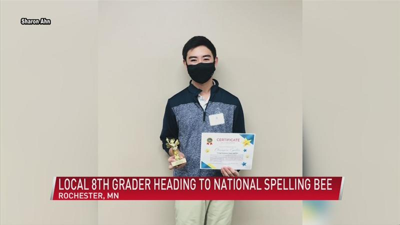 Rochester 8th grader wins SE MN spelling Bee - Heading to nationals
