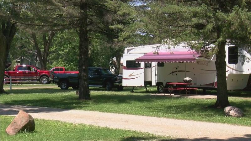 Campers in Iowa state parks will pay more in fees this year