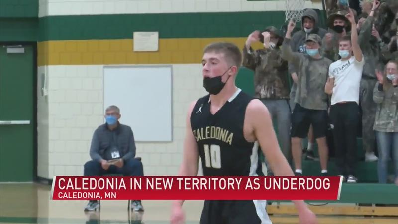 Caledonia in unfamiliar territory as underdog entering state semifinals