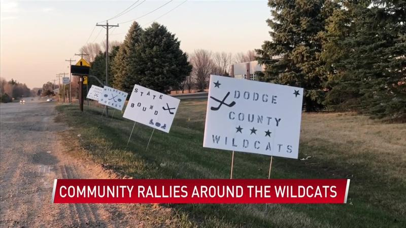 Community rallies around Dodge County Wildcats during first-ever state tournament