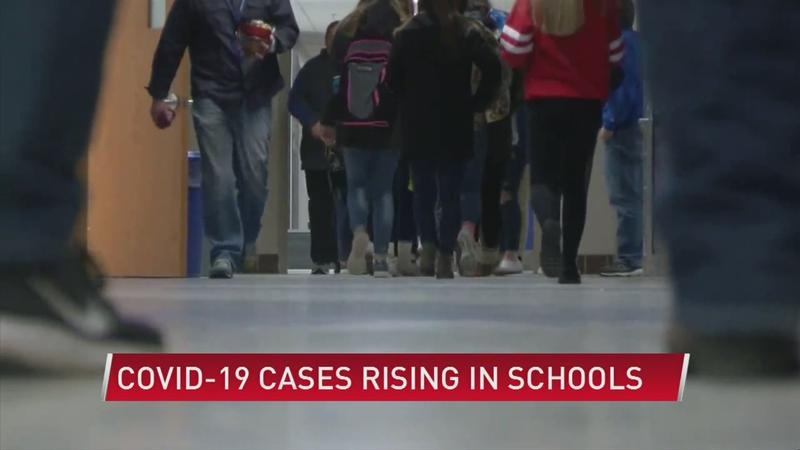 Covid-19 cases rising at alarming rate in schools