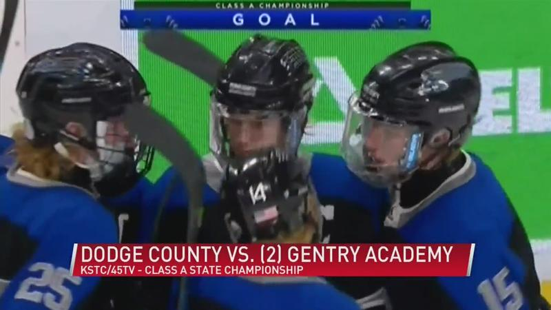 Dodge County boys hockey team puts up a fight, ends their quest for first state title on Saturday