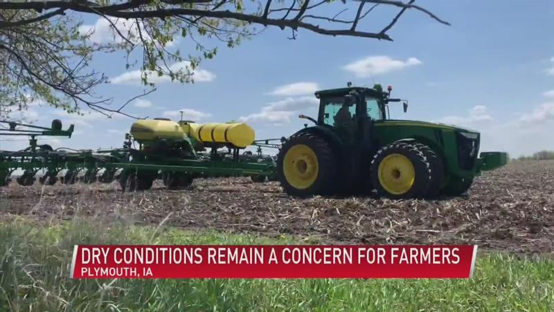 Dry conditions remain a concern for farmers