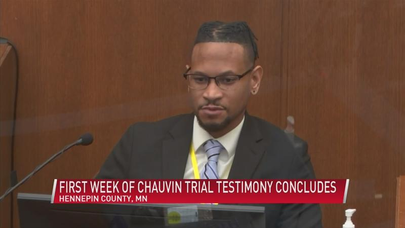 First week of Chauvin trial testimony concludes