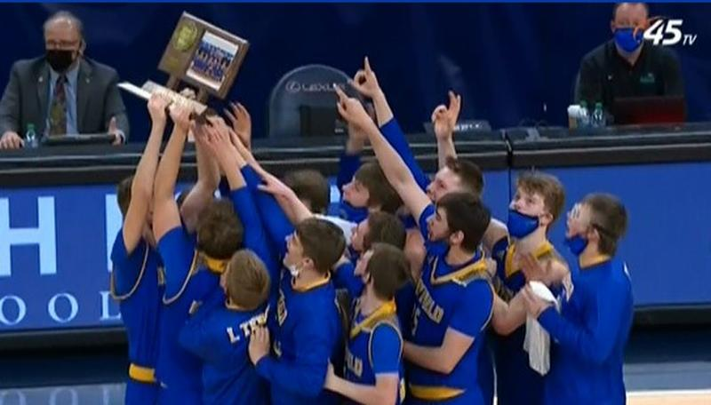 Hayfield Vikings boys basketball team wins first-ever state title