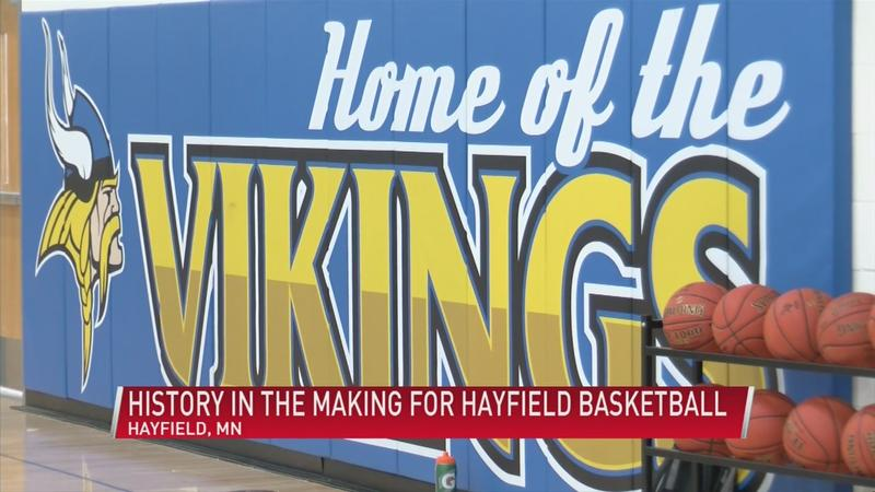 History in the making for Hayfield basketball
