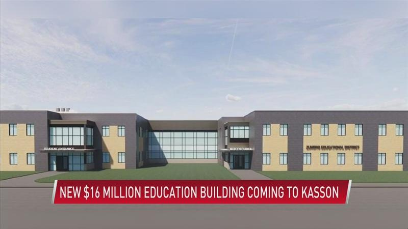 New $16 million special education building coming to Kasson