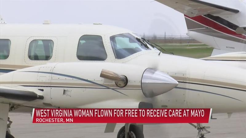 Non-profit organization provides free flights for patients needing medical care