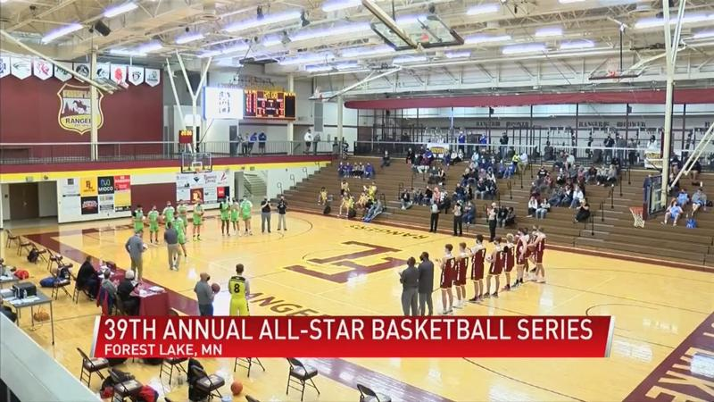 Plenty of familiar faces at this year's All-Star Basketball Series