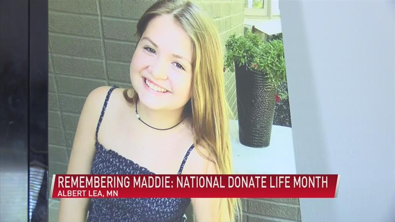Remembering Maddie: National Donate Life Month