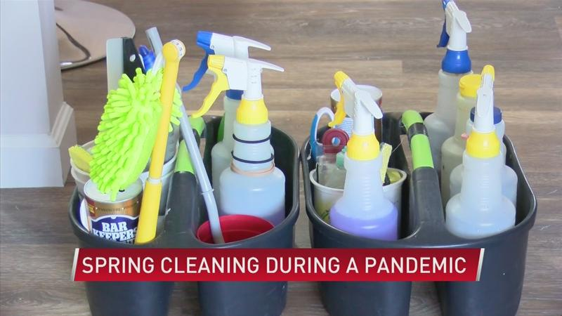 Spring cleaning during a pandemic