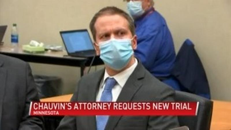 Chauvin attorney files motion for new trial