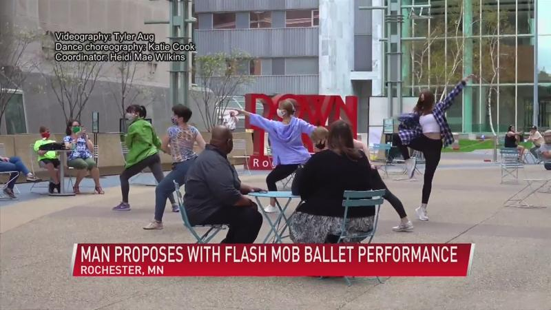 Flash mob proposal in downtown Rochester