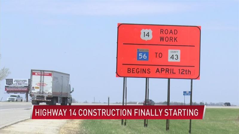 Hwy 14 construction underway after 15 years of planning