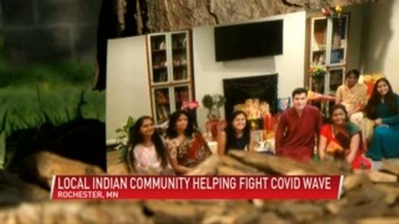 Local Indian community of Rochester helping fight Covid surge