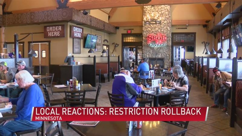 Local organizations glad to see fewer restrictions