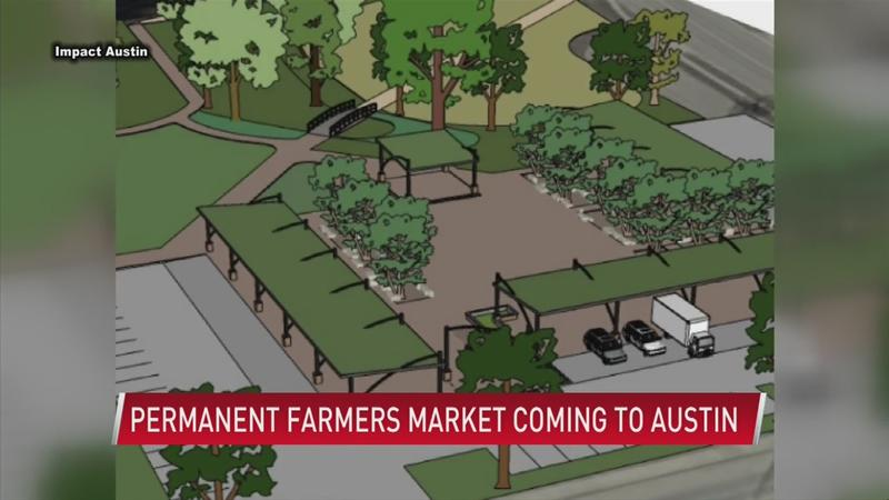 Permanent farmers market space coming to Austin