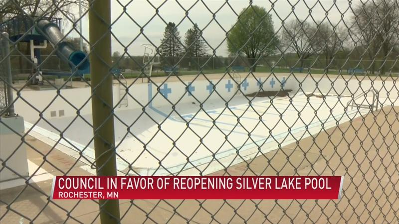 Rochester City Council votes to reopen Silver Lake Pool for one season